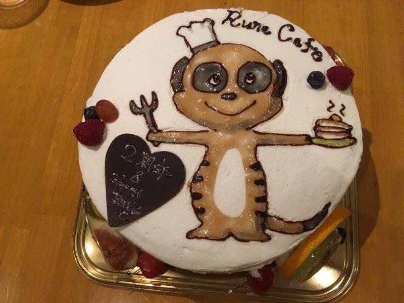 ひろちゃんのケーキ